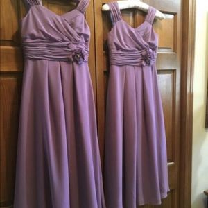 Other - Girls lavender bridesmaid dress size 10